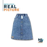 Rok Anak Perempuan Jeans Panjang NOEMI