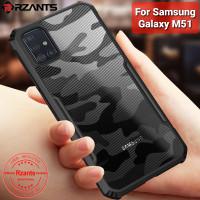 Case Samsung Galaxy M51 RZANTS Army Shockproof - Hitam