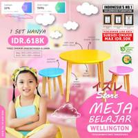 Meja Belajar Wellington Meja Belajar Anak Elegan Minimalis Anti Rayap