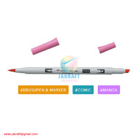 TOMBOW ABT PRO P703 Pink Rose Brush Pen Alcohol-Based Marker