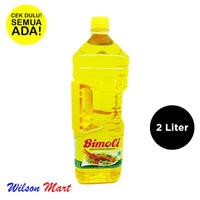 bimoli 2 liter botol (minyak goreng)
