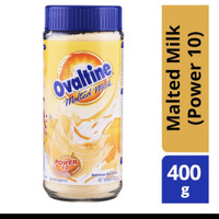 Ovaltine Malt Drink Powder Jar - Bubuk Gandum Malted Milk 400g Import