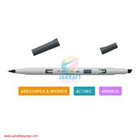 TOMBOW ABT PRO PN45 Cool Gray 10 Brush Pen Alcohol-Based Marker