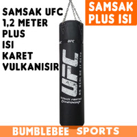 Samsak Plus ISI Karet UFC 120CM - Sansak Tinju Muay Thai MMA Muaythai