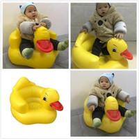 SOFA KURSI Baby Seat - INFLATABLE CHAIR Angin Tiup Makan Anak BEBEK