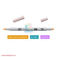 TOMBOW ABT PRO P850 Light Apricot Brush Pen Alcohol-Based Marker