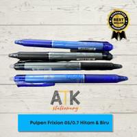 Pulpen Pen Frixion Pilot ( pulpen yang bisa dihapus) - 0.5 HITAM