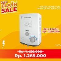 Pemanas Air Water Heater Gas Wasser WH-506 A LPG - PROMO SPESIAL