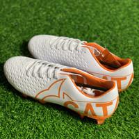 Sepatu bola Ortuseight original Catalyst basilisk FG white orange