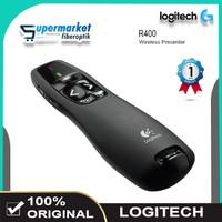Logitech R400 Laser Pointer Wireless Presenter Original Logitech