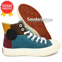 Sepatu Warrior Sparta Rainbow Tosca / Sepatu Warrrior Rainbow High
