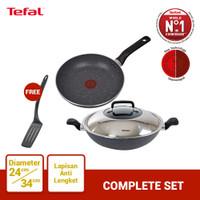 Tefal Wajan & Panci Complete Set 2 - Penggorengan
