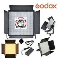 Godox LED 1000Bi II Panel Bicolor Lighting Fill Video Light Lampu Vlog