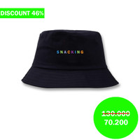 Snackingchoices Bucket Hat Willy Black