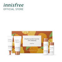[innisfree] Brightening Skin Care Set with Hallabong