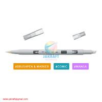 TOMBOW ABT PRO PN00 Colorless Blender Brush Pen Alcohol-Based Marker