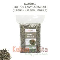 Du Puy Lentils - French Green Lentils - Lentil Hijau 250gr