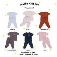 Setelan Anak Waffle Knit Set Mooi
