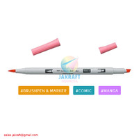 TOMBOW ABT PRO P803 Pink Punch Brush Pen Alcohol-Based Marker