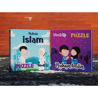 Puzzle Kayu Mainan Edukasi Anak Islam