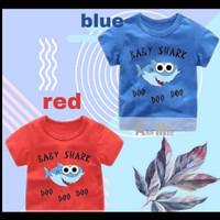 BAJU - KAOS ANAK - BABY SHARK DOO DOO DOO - BABY SHARK PINK FONG
