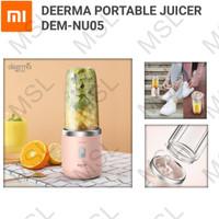 Xiaomi Deerma Portable Mini Juicer Blender Buah Jus 400ml DEM-NU05