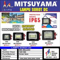 Lampu Sorot DC 50 Watt Tembak 12V IP65 Mitsuyama MS-9650DC Floodled