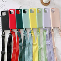 CASE CASING COVER MATTE STRAP + TALI IPHONE 11 PRO MAX