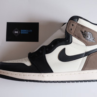 Nike Air Jordan 1 High Dark Mocha Godkiller UA / Reject Grade 1:1