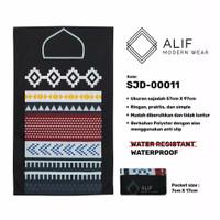 Sajadah Saku Anti Air | Sajadah Travel Lipat Alif Modern Wear SJD-0011