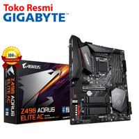 Gigabyte Motherboard ATX Socket LGA1200 4 x DDR4 (Z490 AORUS ELITE AC)