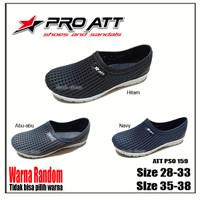 Pro ATT PSO 159 28-38 / Sepatu Karet Anak Slip On Tahan Air