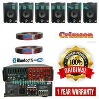 Paket Sound System Kafe, Crimson CR 402 ( 6 unit )
