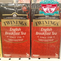 Twinings Tea Of London English Breakfast 25 pcs | Teh