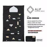 Sajadah Saku Anti Air | Sajadah Travel Lipat Alif Modern Wear SJD-0022