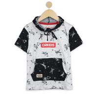 ORKIDS Baju Kaos Anak Astroz White Black