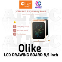 "LCD Drawing Writing Board 10"" & 8.5"" Olike Papan Tulis Digital Anak"