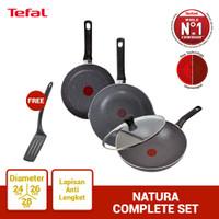 Tefal Natura Complete Set - Wajan Panci Penggorengan