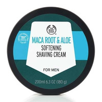 THE BODY SHOP MACA ROOT & ALOE SOFTENING SHAVING CREAM 200ML