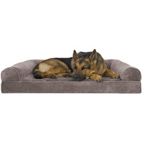 Furhaven Pet - Orthopedic Living Room Sofa-Style Couch Dog Bed for Dog