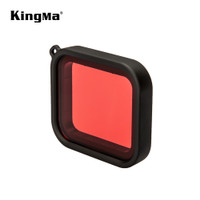 RED FILTER FOR UNDER WATERPROOF CASE KINGMA FOR GOPRO HERO 7