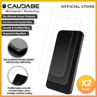 Caudabe Crystal Shield Full Tempered Glass iPhone 12 Pro Max Pro Mini
