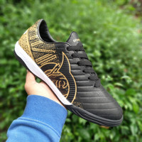 Sepatu Futsal Ortuseight Catalyst Cypher Black Gold - hitam gold, 39