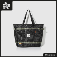 THE GOODS DEPT - OVER-P TOTE BAG BLACK