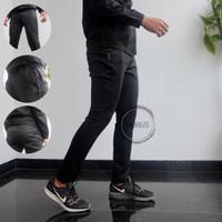 Celana Training Panjang Misty Stretch Garment - Black, L