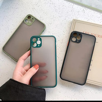 Xiaomi Redmi Note 9 Pro Soft Case Matte Frosted Case Aero Full Kamera
