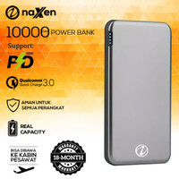 Powerbank Naxen 10000mAh Quick Charge 3.0 PD Power Delivery Simplicity