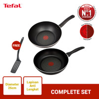 Tefal Wajan & Panci Complete Set 1 - Penggorengan