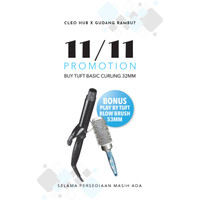 TUFT BASIC Curling Iron 32mm - 7319
