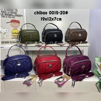 "TAS WANITA CHIBAO BORDIR Mini"" 2in1 Jinjing dan Selempang CB0015"